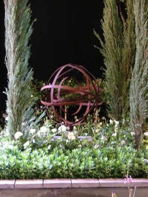 2006 Garden & Leisure Show. An armillary sphere is a must have for a classic garden